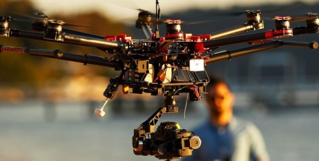 university research quadcopter